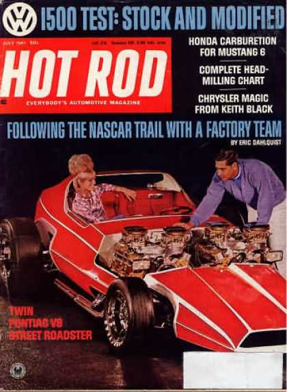 Hot Rod - July 1967