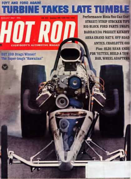 Hot Rod - August 1967