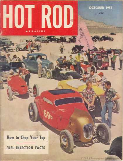 Hot Rod - October 1951