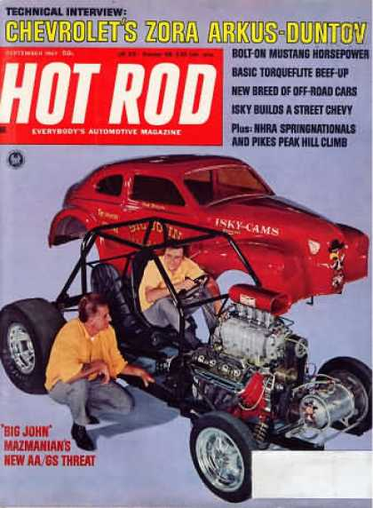 Hot Rod - September 1967
