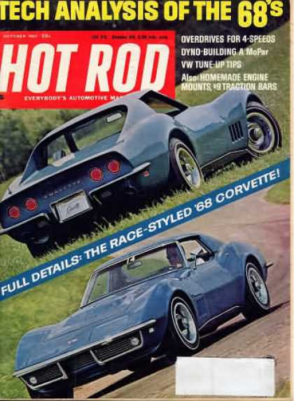 Hot Rod - October 1967