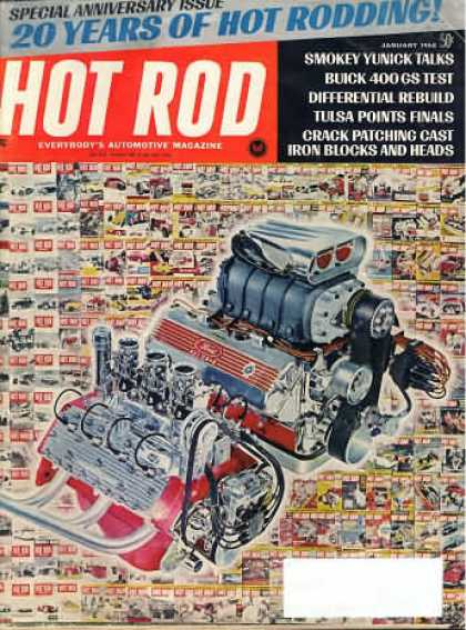 Hot Rod - January 1968