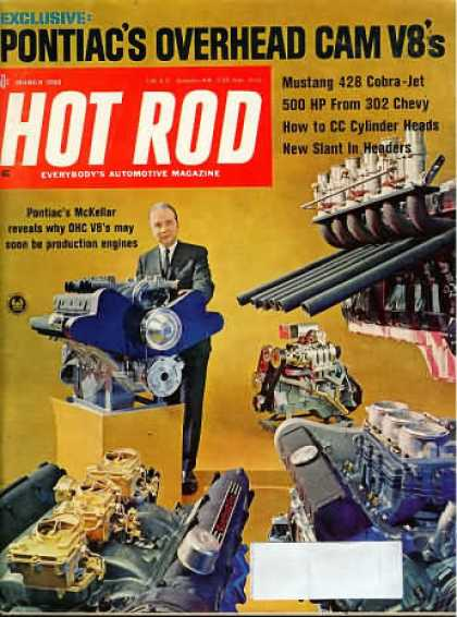Hot Rod - March 1968