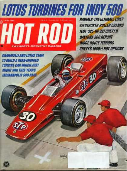 Hot Rod - May 1968