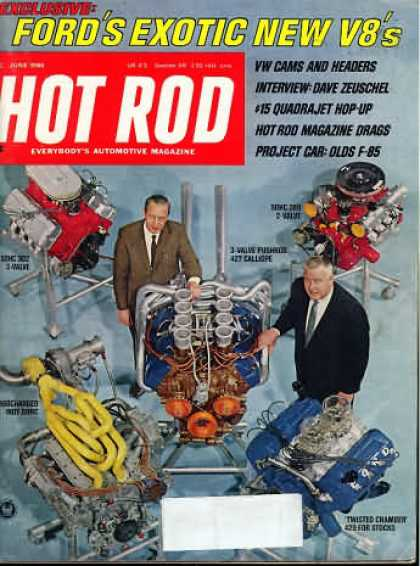 Hot Rod - June 1968