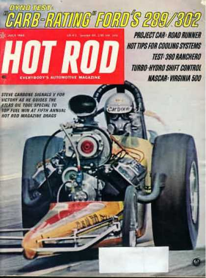 Hot Rod - July 1968