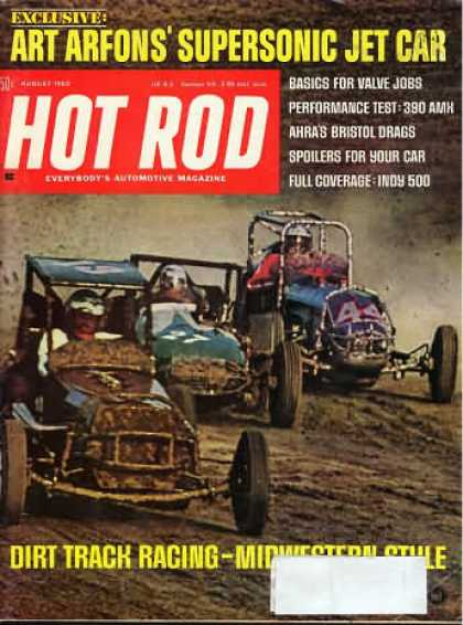 Hot Rod - August 1968