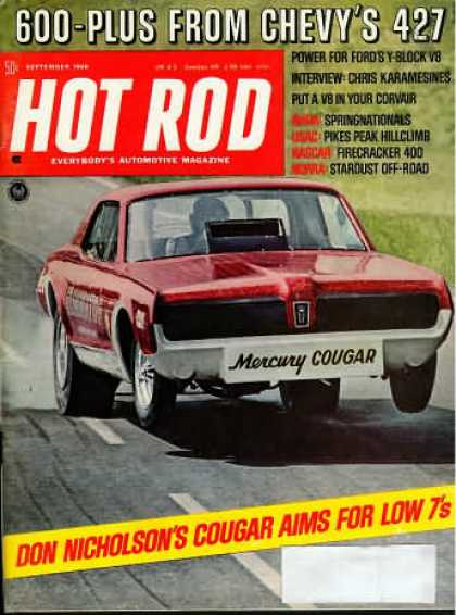 Hot Rod - September 1968