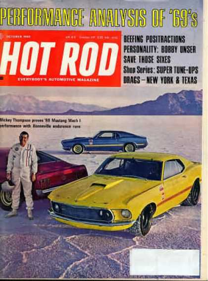 Hot Rod - October 1968