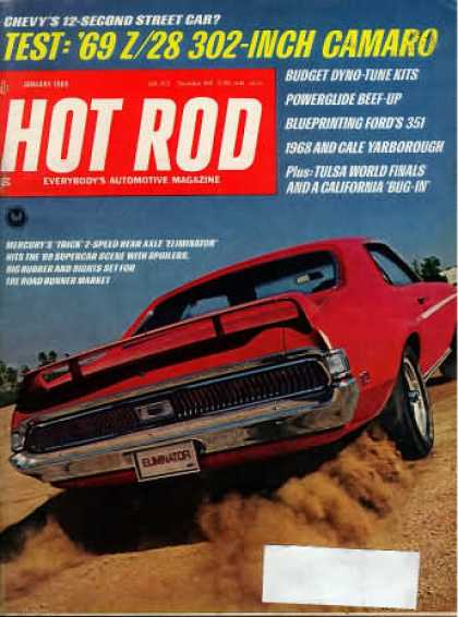 Hot Rod - January 1969