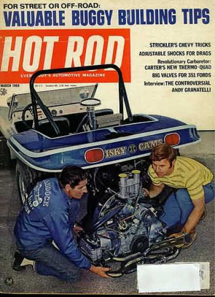 Hot Rod - March 1969