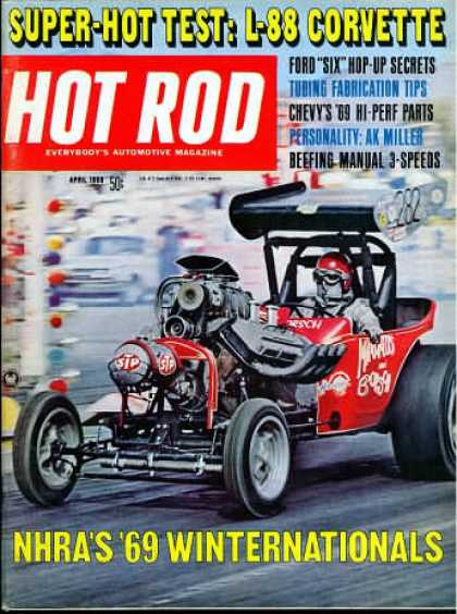 Hot Rod - April 1969