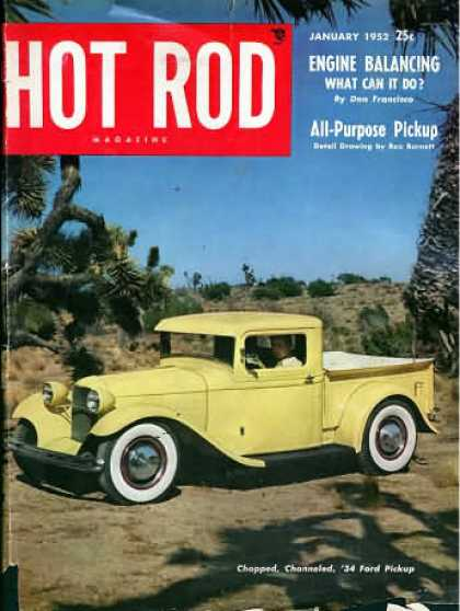 Hot Rod - January 1952