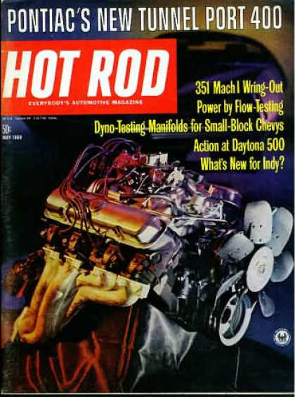 Hot Rod - May 1969