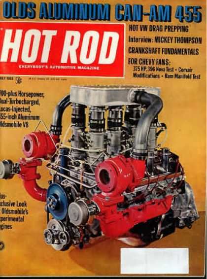 Hot Rod - July 1969