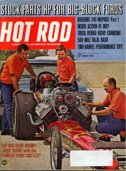 Hot Rod - August 1969