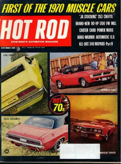 Hot Rod - September 1969