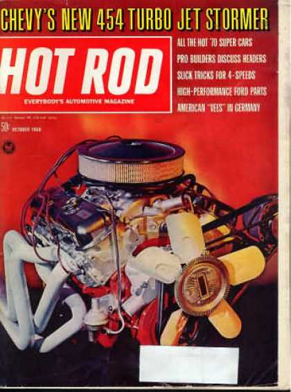 Hot Rod - October 1969