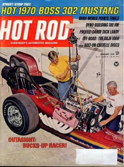 Hot Rod - January 1970
