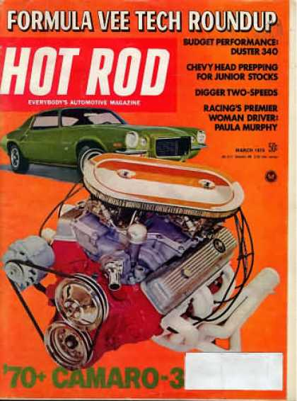 Hot Rod - March 1970