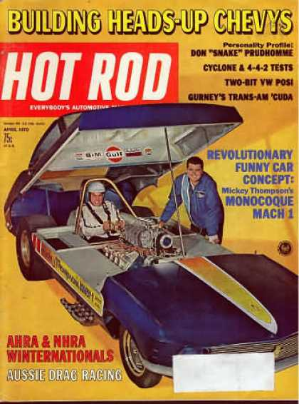 Hot Rod - April 1970