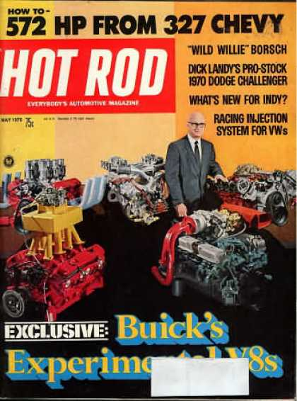 Hot Rod - May 1970