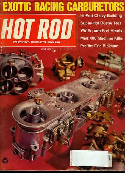 Hot Rod - June 1970