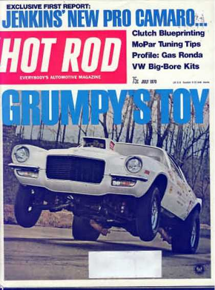 Hot Rod - July 1970