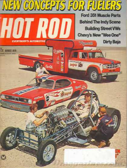 Hot Rod - August 1970