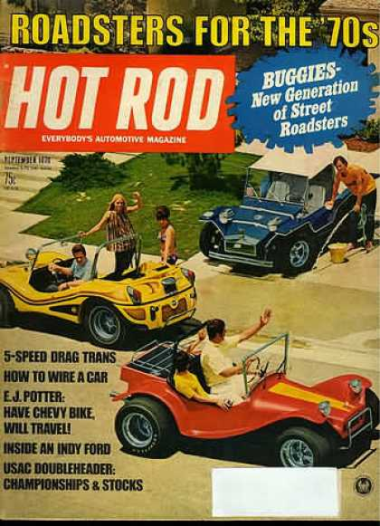 Hot Rod - September 1970