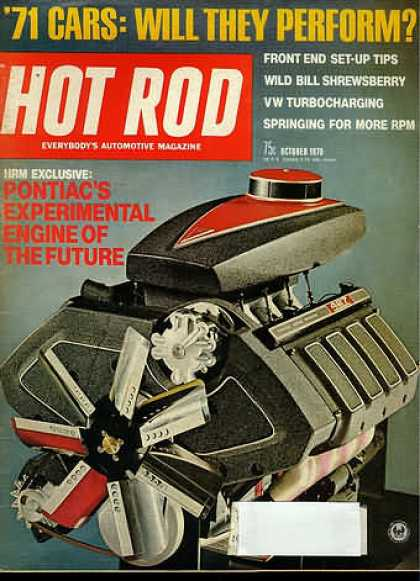 Hot Rod - October 1970