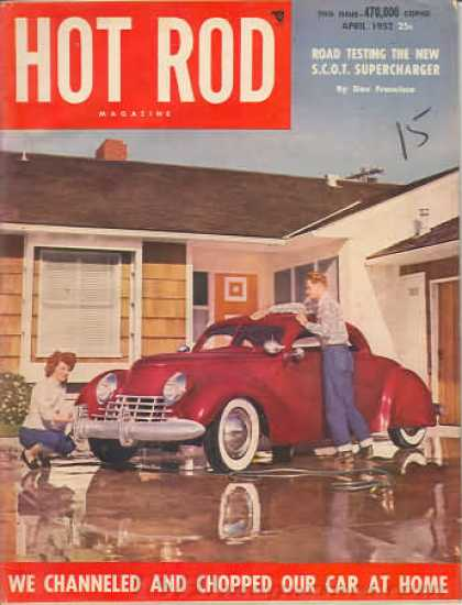 Hot Rod - April 1952