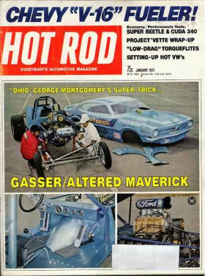 Hot Rod - January 1971