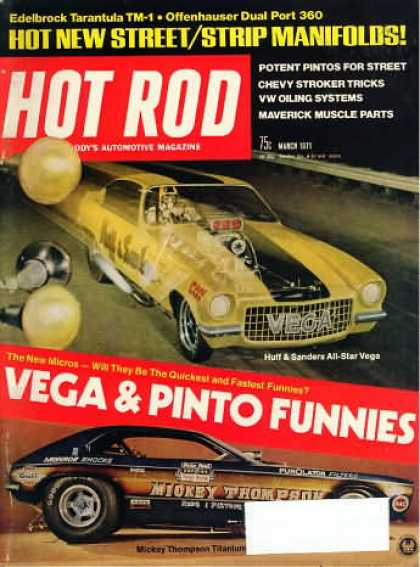 Hot Rod - March 1971