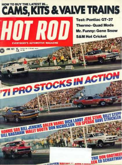 Hot Rod - June 1971