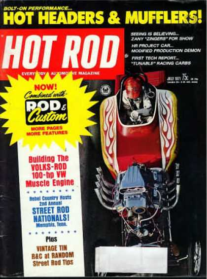 Hot Rod - July 1971