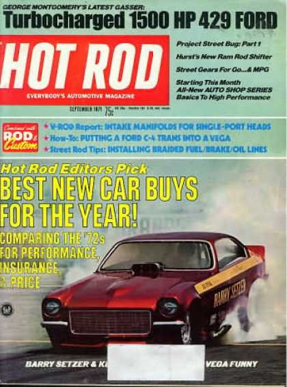 Hot Rod - September 1971