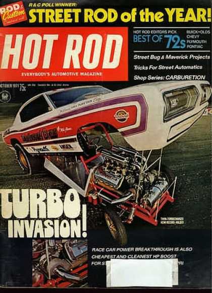 Hot Rod - October 1971
