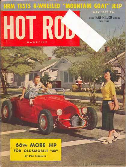 Hot Rod - May 1952