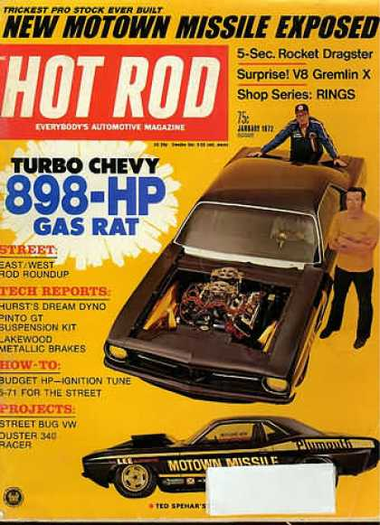 Hot Rod - January 1972