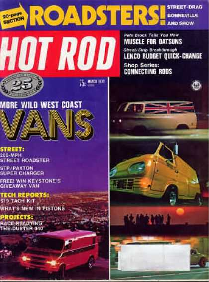 Hot Rod - March 1972