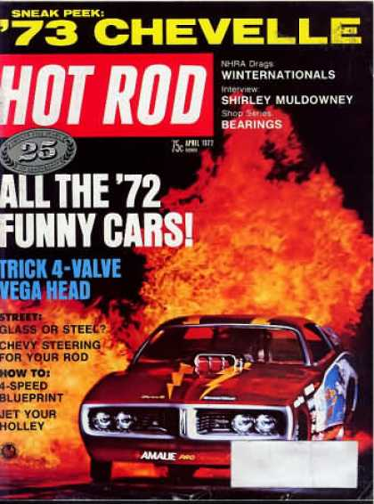 Hot Rod - April 1972
