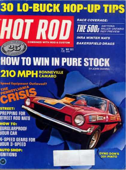 Hot Rod - May 1972