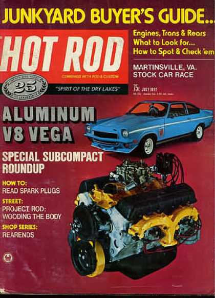 Hot Rod - July 1972