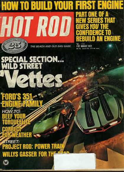 Hot Rod - August 1972