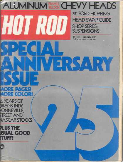 Hot Rod - January 1973