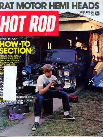 Hot Rod - March 1973