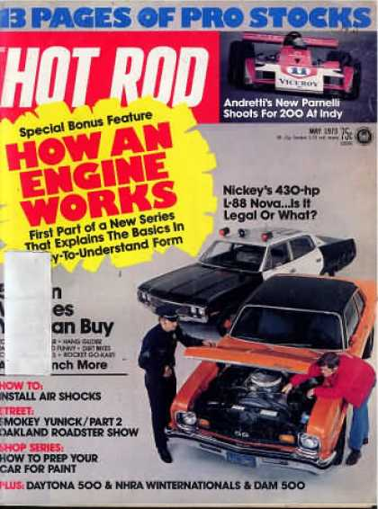 Hot Rod - May 1973