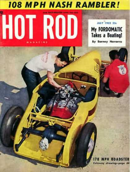 Hot Rod - July 1952