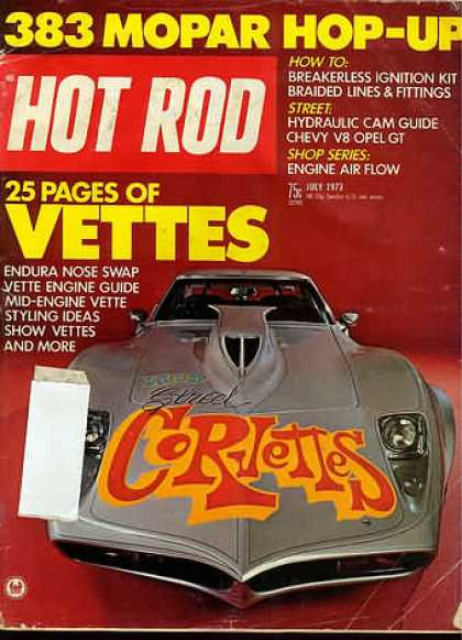 Hot Rod - July 1973
